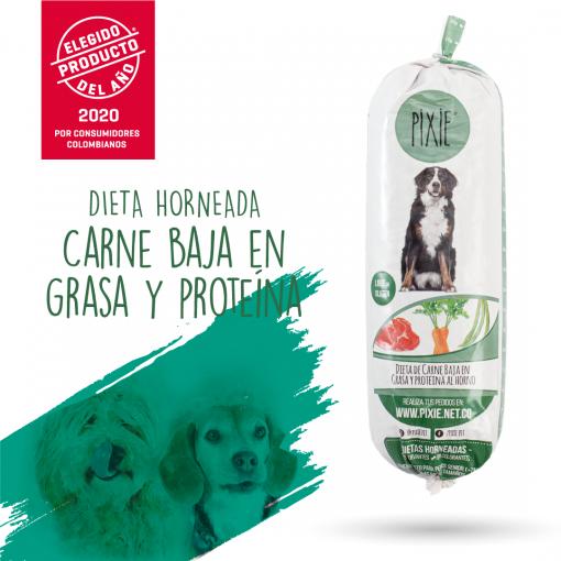 Dieta diseñada para perritos mayores de 7 años o con problemas hepáticos o renales